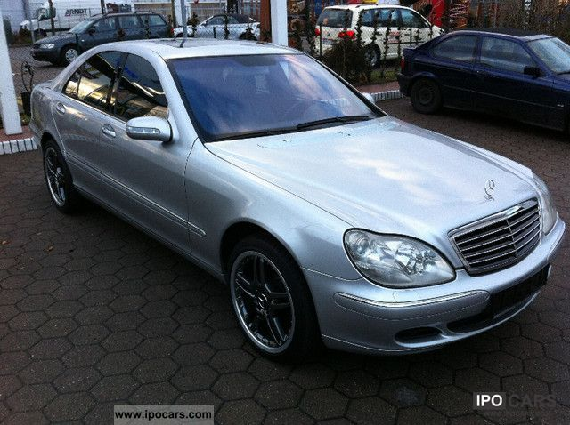 2003 mercedes benz s 400 cdi amg facelift car photo and