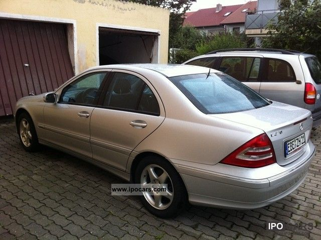 2003 mercedes benz c 270 cdi car photo and specs. Black Bedroom Furniture Sets. Home Design Ideas