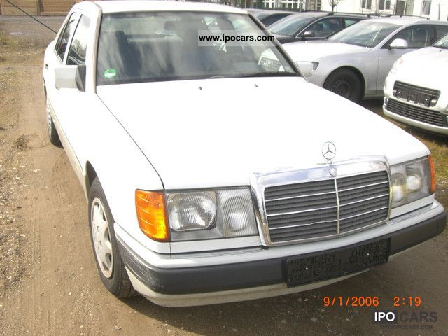 1992 Mercedes-Benz  200 E Limousine Used vehicle photo