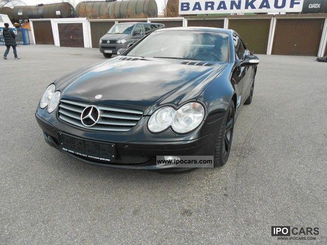 2003 mercedes benz sl 500 roadster aut car photo and specs for Mercedes benz sl 500 2003