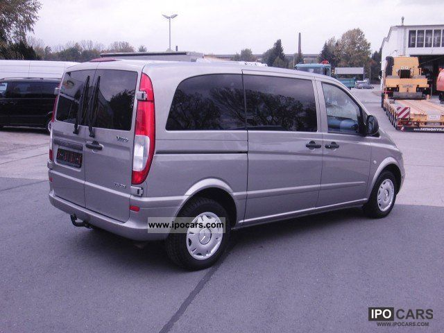 2008 mercedes benz vito 115 cdi compact automatic climate euro 4 apc car photo and specs. Black Bedroom Furniture Sets. Home Design Ideas