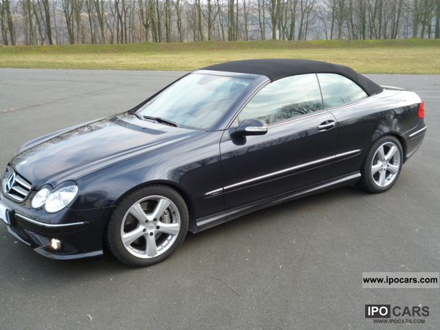 2007 mercedes benz clk 200 k avantgarde amg automatic for 2007 mercedes benz clk