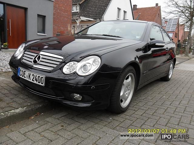 2005 mercedes benz c 230 kompressor sports coupe car for Mercedes benz coupe 2005