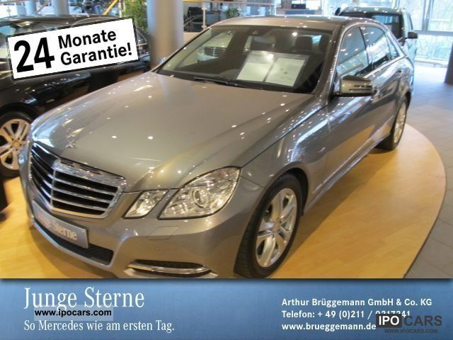 2011 Mercedes-Benz  E 350 CDI Avantgarde BE Fondsicherheits-Paket/SD Limousine Employee's Car photo