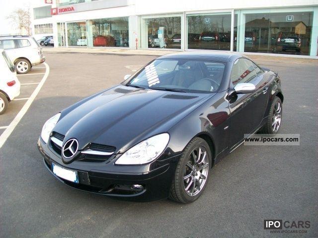 2007 mercedes benz slk 200 kompressor sports cat car photo and specs. Black Bedroom Furniture Sets. Home Design Ideas