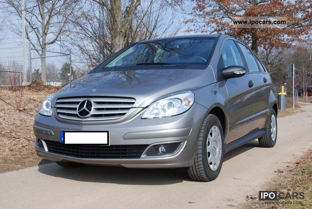 2007 mercedes benz b 150 car photo and specs. Black Bedroom Furniture Sets. Home Design Ideas