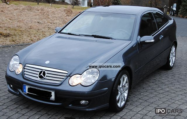 2004 mercedes benz c 200 cdi sports coupe dpf car photo and specs. Black Bedroom Furniture Sets. Home Design Ideas