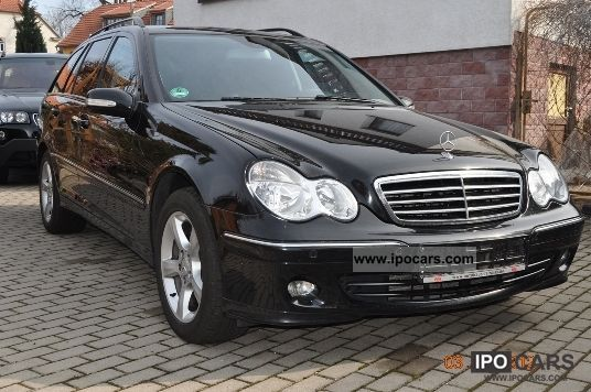2006 mercedes benz c 220 t cdi avantgarde auto dpf car photo and specs. Black Bedroom Furniture Sets. Home Design Ideas