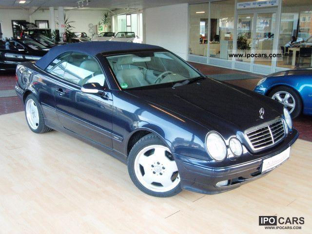 2000 mercedes benz clk 320 cabriolet avantg comand xenon for 2000 mercedes benz clk 320