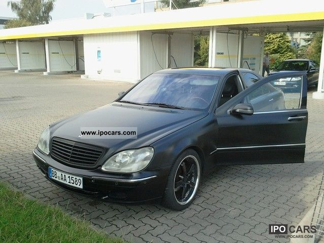 Mercedes-Benz  S 320 1999 Liquefied Petroleum Gas Cars (LPG, GPL, propane) photo
