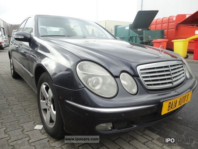 2004 mercedes benz e 220 cdi automatic car photo and specs. Black Bedroom Furniture Sets. Home Design Ideas