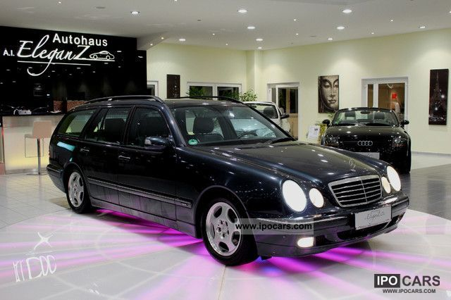 Mercedes-Benz  E 320 Avantgarde T * AIR * LEATHER * XENON * NAVI * LPG * 2000 Liquefied Petroleum Gas Cars (LPG, GPL, propane) photo