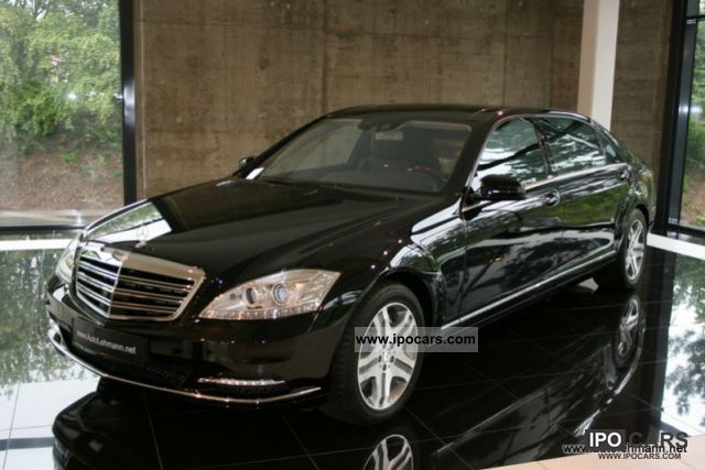 2011 mercedes-benz s 600 long verlÄngert_unikat_einzelstÜck - car