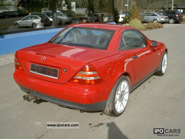 1996 mercedes benz slk 200 car photo and specs. Black Bedroom Furniture Sets. Home Design Ideas
