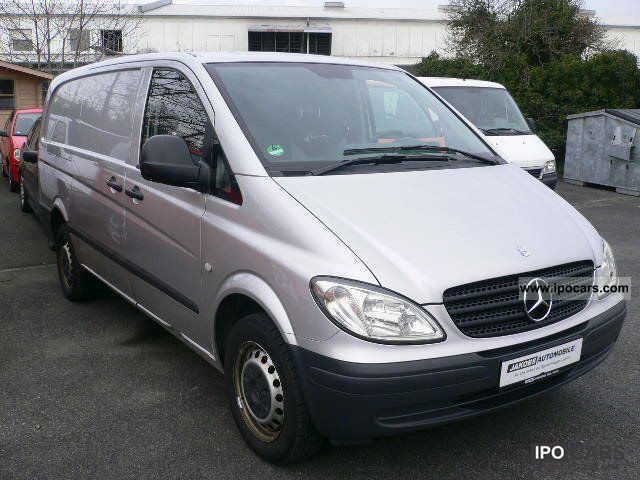 2008 mercedes benz vito 111 cdi long 6 speed air euro 4 car photo and specs. Black Bedroom Furniture Sets. Home Design Ideas