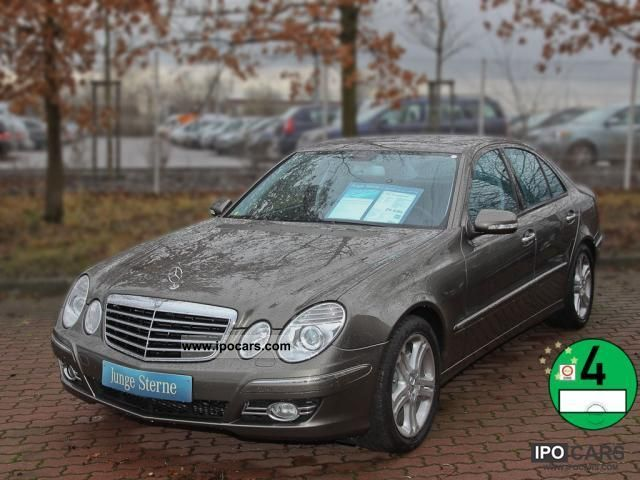 2008 Mercedes-Benz  E 350 Avantgarde Memory Airmatic Harman Kardon Limousine Used vehicle photo