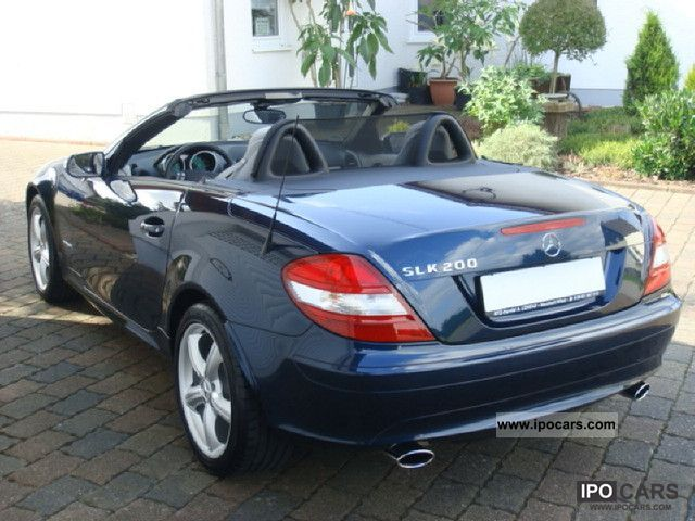 2007 mercedes benz slk 200 kompressor car photo and specs. Black Bedroom Furniture Sets. Home Design Ideas