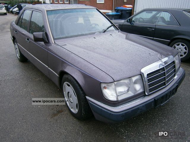 1990 mercedes benz 260 e car photo and specs for Mercedes benz 260