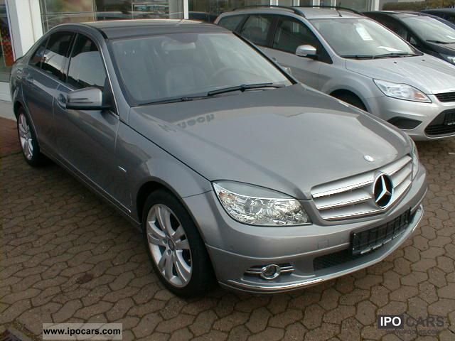 2008 mercedes benz c 180 kompressor blueefficiency avantgarde car photo and specs. Black Bedroom Furniture Sets. Home Design Ideas