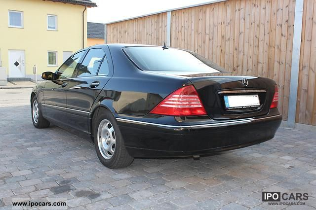 2005 Mercedes Benz S 400 Cdi Car Photo And Specs