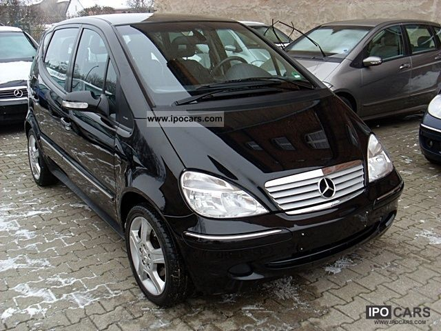 2005 mercedes benz a 160 long avantg piccadilly 67 000 km car photo and specs. Black Bedroom Furniture Sets. Home Design Ideas