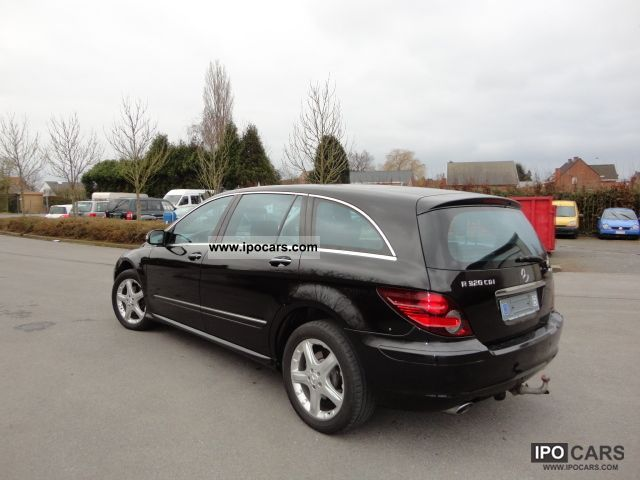 2007 mercedes benz r 320 cdi l 4matic 7g tronic dpf car. Black Bedroom Furniture Sets. Home Design Ideas