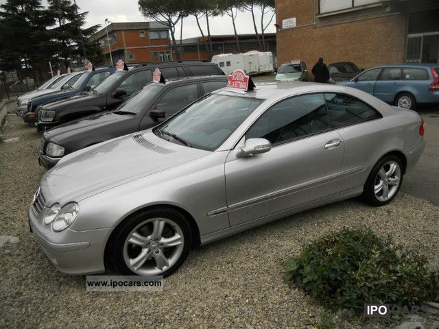 2005 mercedes benz clk 270 avant garde car photo and specs. Black Bedroom Furniture Sets. Home Design Ideas