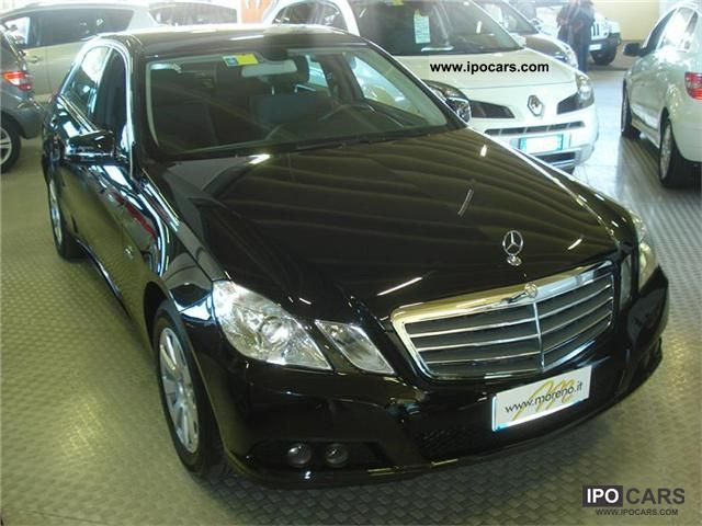 2011 Mercedes-Benz  Classe E 200 2.2 CDI ELEGANCE AUTOMATIC CAMBIO Limousine Used vehicle photo