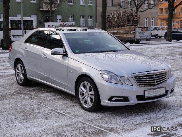 2009 mercedes benz e 220 cdi blueefficiency avantg voll net 23 199 car photo and specs