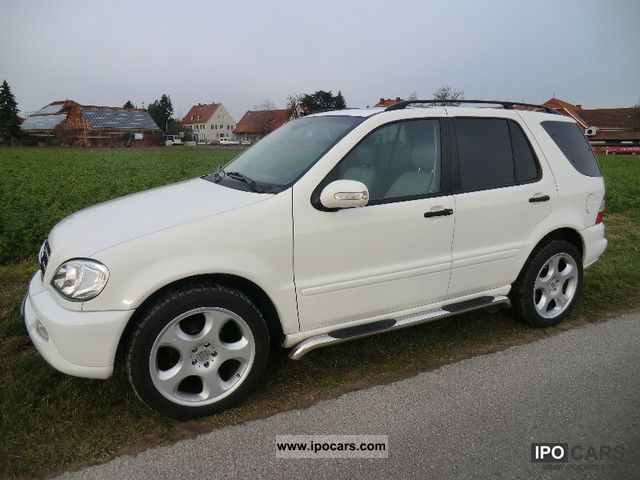 Mercedes-Benz  ML 350 LPG / Autogas BRABUS 20-inch 2004 Liquefied Petroleum Gas Cars (LPG, GPL, propane) photo