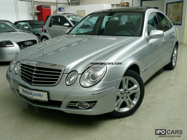2008 mercedes benz e 350 4matic avantgarde panorama memory for Mercedes benz e 350 2008