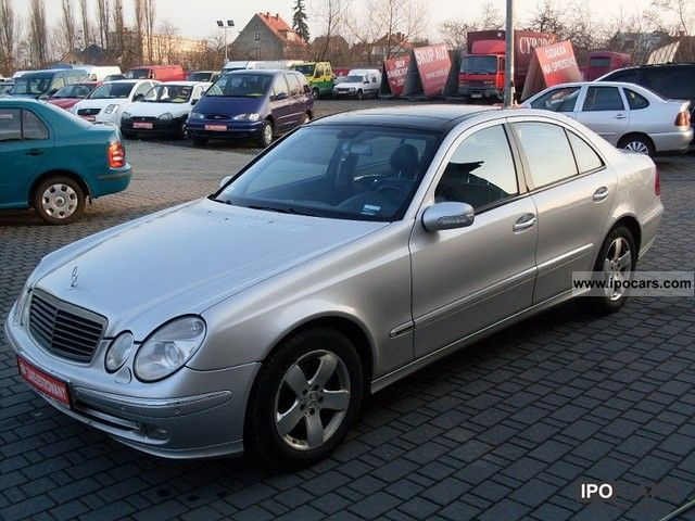 2002 Mercedes Benz E 270 Panoramicz Ny Roof Full Opcja