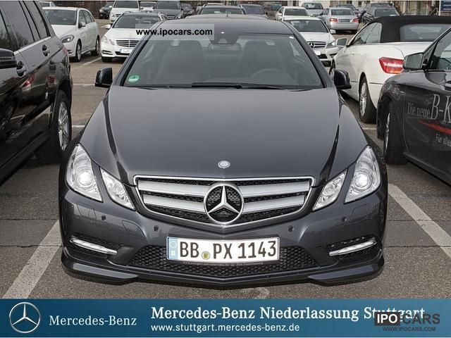 2012 Mercedes Benz E 220 Cdi Be Coupe Xenon Vision Sports