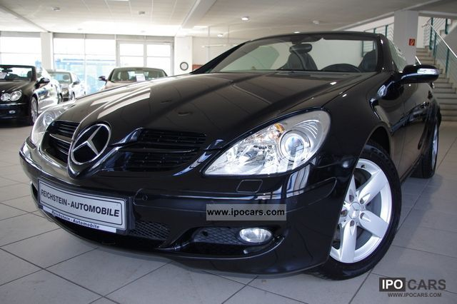 2007 mercedes benz comand slk 280 airscarf bi xenon pdc car photo and specs. Black Bedroom Furniture Sets. Home Design Ideas