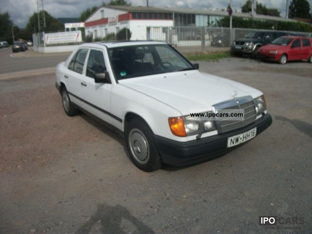 1988 mercedes benz 260 e car photo and specs for Mercedes benz 260