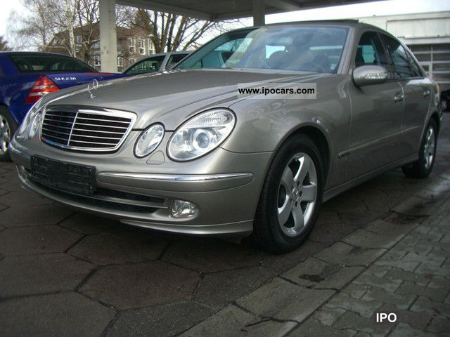2004 Mercedes-Benz  * E 240 Avantgarde * Leather * Xenon * Sunroof * 65Tkm * Limousine Used vehicle photo