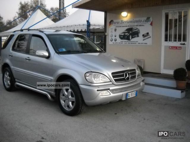 2001 mercedes benz ml 400 cdi full tetto navi xenon pdc. Black Bedroom Furniture Sets. Home Design Ideas