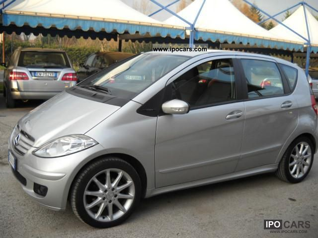 2005 mercedes benz a 160 cdi avantgarde dpf car photo and specs. Black Bedroom Furniture Sets. Home Design Ideas