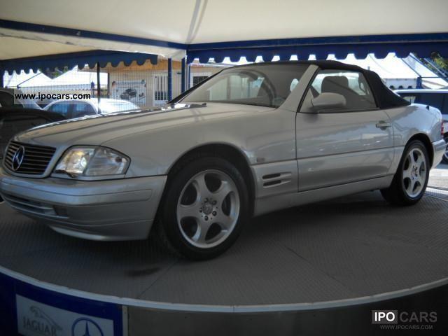 1999 mercedes benz sl 320 special edition fantastica car photo and specs. Black Bedroom Furniture Sets. Home Design Ideas