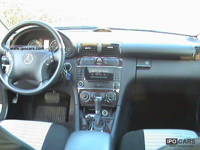 2005 mercedes benz c 200 cdi classic auto dpf car photo and specs. Black Bedroom Furniture Sets. Home Design Ideas