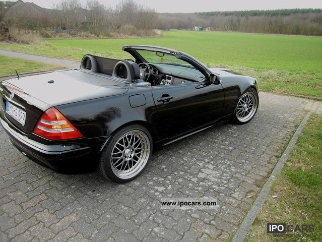 2002 mercedes benz slk 320 facelift car photo and specs. Black Bedroom Furniture Sets. Home Design Ideas