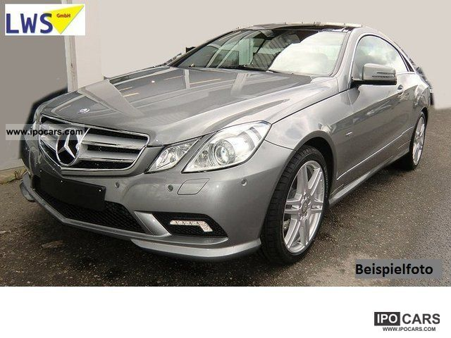 2011 mercedes benz e 350 cdi sport package blueeff coupe - Mercedes classe e coupe 350 cdi pack amg ...