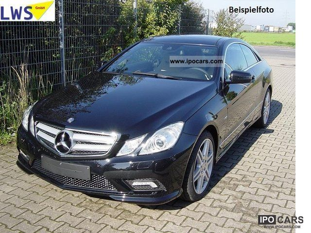 2011 mercedes benz e 350 cdi blueeff ava coupe sport - Mercedes classe e coupe 350 cdi pack amg ...