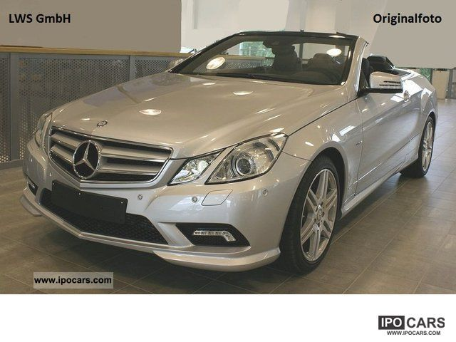 2011 mercedes benz e 200 cgi convertible avantg amg sport package 18 car photo and specs. Black Bedroom Furniture Sets. Home Design Ideas