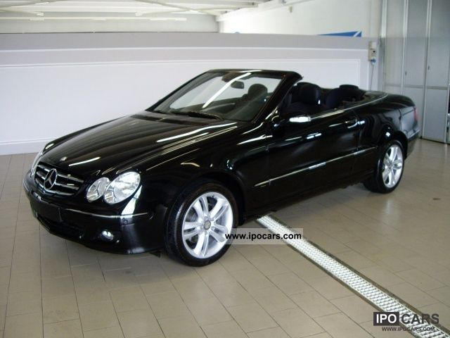 2009 mercedes benz clk 200 compr convertible avant cat. Black Bedroom Furniture Sets. Home Design Ideas