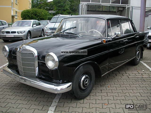 1964 Mercedes-Benz  190 C rear fin W 110 Limousine Classic Vehicle photo