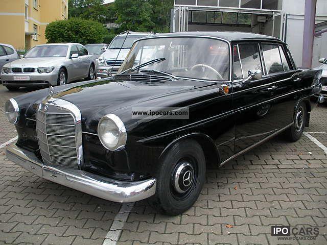1964 Mercedes-Benz  190 C rear fin W 110 Limousine Classic Vehicle photo