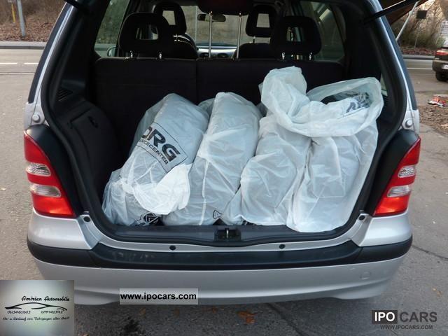 2003 mercedes benz a 140 l classic car photo and specs. Black Bedroom Furniture Sets. Home Design Ideas