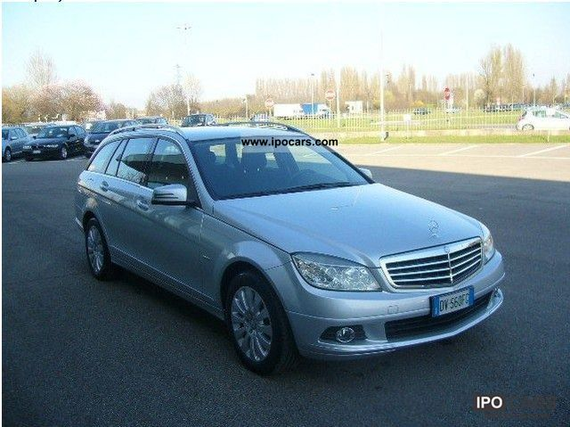 2009 mercedes benz c 220 cdi s w elegance 2008 06u003e 2009 06 car photo and specs. Black Bedroom Furniture Sets. Home Design Ideas