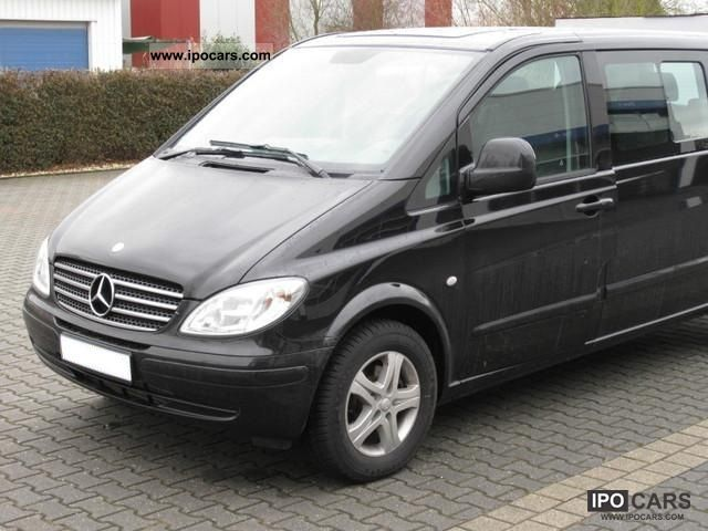 2008 mercedes benz vito 111 cdi extra long mixto car photo and specs. Black Bedroom Furniture Sets. Home Design Ideas